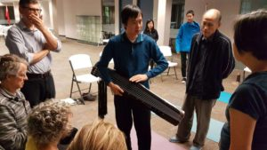 Guqin workshop Vancouver bc