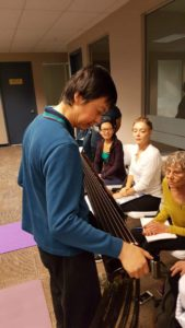 Guqin qigong workshop