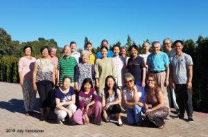 qigong retreat group